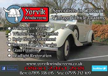 Yorvik Windscreens